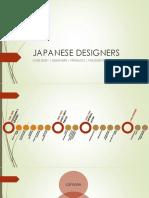 Japanese Designers