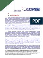 Indicadores de Acidente Do Trabalho - Previdencia Social - 01162 E 1