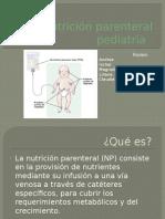 Nutrición Parenteral Pediatría
