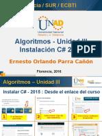 Unidad III - Uso de C#.ppsx