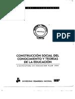 03_Construcción Social Del Conocimiento y Teorías de La Educacion_GUI EST