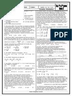 Equações 1 e 2 Graus Com Gabarito Resolvido Lista 2 Site