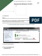 Como Integrar Actualizaciones de Windows 7 en ISO