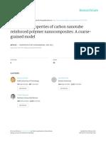 Mechanical Properties of Carbon Nanotube
