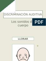 Discriminacion Auditiva El Cuerpo