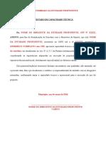 Declarao Capacidade Tcnica - PELC