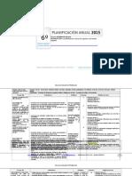 Planificacion Anual Historia 6basico 2015