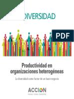 Productividad y Diversidad