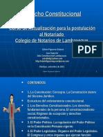 Conferencias Colegio de Notarios Derecho Constitucional 14set2013
