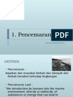 1. pencemaran