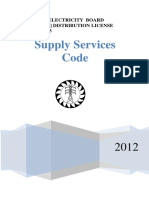 Supply Services Code Draft