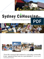 Sydney Cohousing Presentation 2010