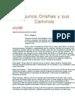 Algunos Orishas y sus Caminos.doc