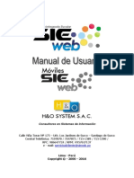 Manual de Sieweb Moviles Android