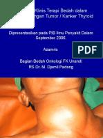 Implikasi Klinis Terapi Bedah Dalam Penanggulangan Penyakit Thyroid