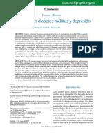 El Paciente Con Diabetes Mellitus y Depresion