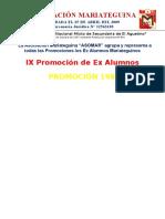 Promocion 1981 - Ie Jcm