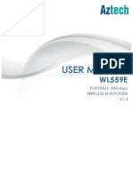 Aztech WL559E User Manual v1.3