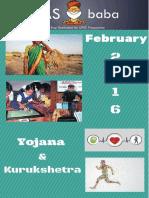 Yojana&Kurukshetra Feb IASbaba