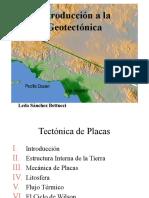 Introduccion a La Geotectonica
