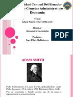 Adam Smith y David Ricardo