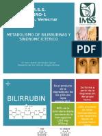 Metabolismo de Bilirrubinas y Sx Icterico
