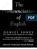 The Pronunciation of English - Daniel Jones