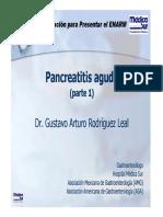 Gastro Pancreatitis Aguda 1