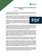 Sistemas de TI y Productividad Vf