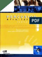 FORCADA, D. - Método de Percusión Afro-latina Vol. 1