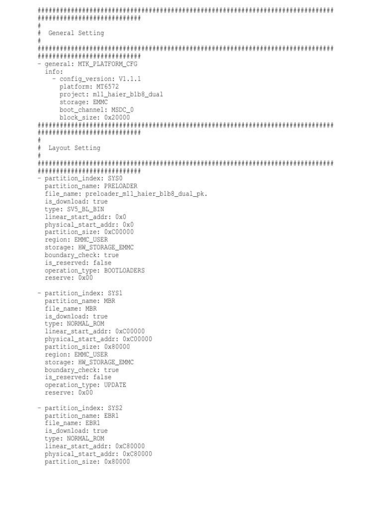 TÉLÉCHARGER MT6572 ANDROID SCATTER EMMC.TXT GRATUITEMENT