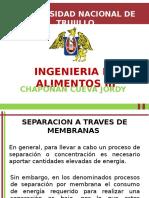 Semana 14 - Separacion a Traves de Membrana - Chapoñan