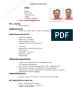 Resume of Shahneawz
