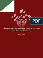 WorldMUN 2013 SPECPOL Study Guide