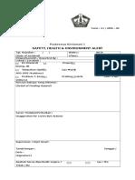 Lampiran Formulir Identifikasi Risiko