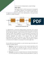 INFORME  Conversión Análoga-Digital