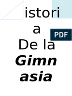 Historia de La Gimansia