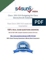 Pass4sure 200-310 Exam Question