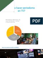 Como Hacer Periodismo en TV