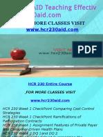 HCR 230 AID Teaching Effectively/hcr230aid.com