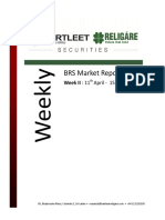 BRS Weekly Market Report - 15.04.2016