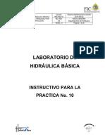 INSTRUCTIVO Hidraulica