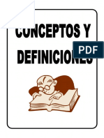 Conceptos y Definiciones