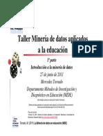 Minería de Datos Aplicados a La Educación
