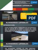 Diapositivas Aliviaderos Laterales