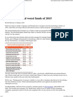 Ignites Europe - Named Best and Worst Funds of 2015Print Issue
