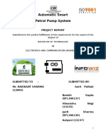 Major Project Report on Automatic Petrol Pump System