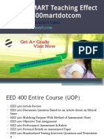 EED 400 MART Teaching Effectively Eed400martdotcom