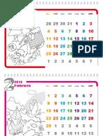 Plantilla de Windows Calendario