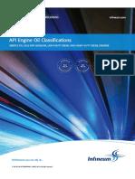 API Oil Engine Classifications 2013